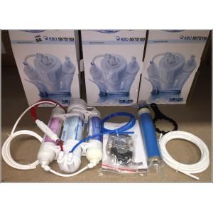 Osmoseur/Osmopur KBO complet 100Gpd (Memb. TFC + 2 Pré-Filtres) : 380 L/Jour