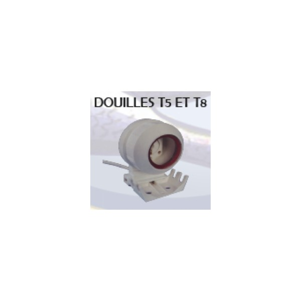 Support embout tanche dia 26mm t8 cable 2m aqua for 2m distribution
