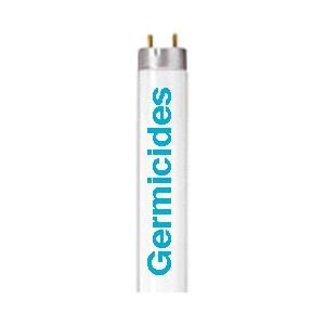 Tube Quartz Germicide U.V. 220v 18W Compact Culot: 2G11